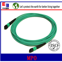 MPO om3 om4 fiber optic patch cord fiber optical pigtail cables customs OEM factory