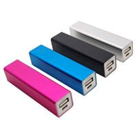 Square Tube Power Bank Charger/Mobile Phone Power Bank 2200mAh