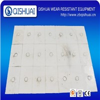 Manufacturer of ceramics lining tile for wear protection