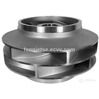 ISO9001: 2008 AP Alloy Foundry Customized Manufacturer Precision Casting Part Pump Impeller