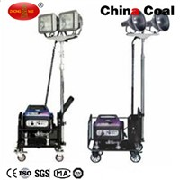 MO-2050L LED Gasoline Generator Mobile Light Tower