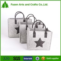 Multifunctional felt storage bags packing bags food bags