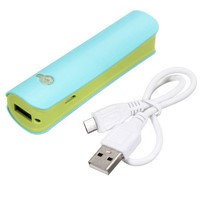 Portable charger mobile phone charger for iPhone/Samsung 2600mAh