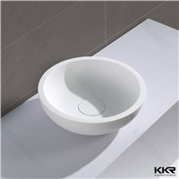 kingkonree square wash basin/ half pedestal wash basin