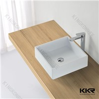 Artificial stone solid surface wash hand basin