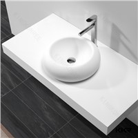 Best quality kkr man made stone solid surface wash basin