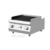 Counter-Top Electric Lava Rock Grill Kitchen Equipment Restaurant Equipment