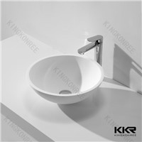 Factory Price Acrylic Solid Surface Corian Bathroom Wash Basin