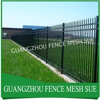 China Steel Picket Fence designs Tubular fencing manufacturers