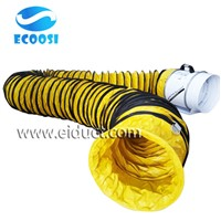 Fire Proof Strong Pre-Conditioned Airport Air Conditioning Insulated Flexible Ducting Hose