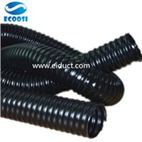 Thermoplastic Black Rubber Flexible Ducting Hoses