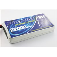 Intelligent UAV/Drone Battery packs 11.1v 22000mah 3s 18c lipo battery packs with customized BMS