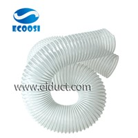 PVC Flexible Air Ducting Hose with PVC Coated Steel Wire Helix