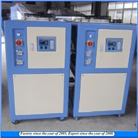 Injection machine using Mobile air cooled chiller unit