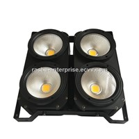 Rasha Studio Blinder 4 Head 200W White/Warmwhite 2in1 COB Audience LED Blinder Light