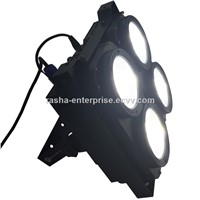New Hot Sale Rasha Studio Blinder 4 Head 200W White/Warmwhite 2in1 COB Audience LED Blinder Light