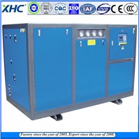 China made water cooled industrial chiller with cooling tower