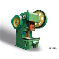 J21-125T Punch press for punchine aluminum window and door