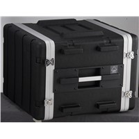 Heavy duty ABS case for 8-unit rack