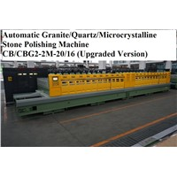 Automatic Granite/Quartz/Microcrystalline Stone Polishing Machine (Upgraded Version)CB/CBG2-2M-20/16