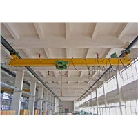 Workshop Used LX 10t Electric Single Girder Overhead Travelling Crane