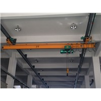 High Quality Workshop Used LX 10t  Electric Single Girder Overhead Travelling Crane
