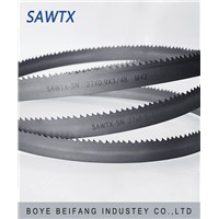 China supply metal cutting band saw blade for stainless steel cutting