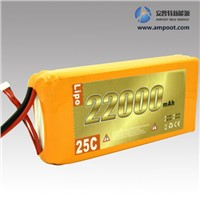22,2V 22000mAh High Rate Discharge Lipo Battery Pack, Jump Start Battery, R/C Battery