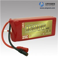 11.1V 16000mAh High Rate Discharge Lipo Battery Pack, Jump Start Battery, R/C Battery