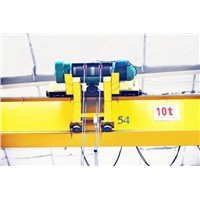Workshop Used LP 5T Electric Single Girder Overhead Travelling Crane from China