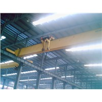 Workshop Used LP 5T  Electric Single Girder Overhead Travelling Crane