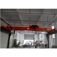 Workshop Used LP 8T Electric Single Girder Overhead Travelling Crane Selling