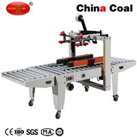 FXJ-5050B Semi-Automatic Carton Box Sealing Machine/ Carton Sealer (side belt conveyor)