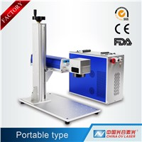 High Speed good quality 3d fiber laser metal ear tag printing stamping machine