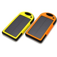 Solar Power Bank 4000mah with external battery for emergency