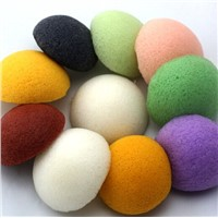 hot sale deep cleanning 100% natural konjac facial sponge