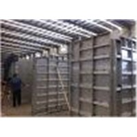 modular aluminum formwork,easy to transport, set up, tear down, and clean.