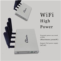 High Power WiFi POE Router with 1000m Range of Indoor Space Support OpenWRT