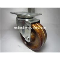 4 inch plate swivel Bakelite high temprature caster load 130kg