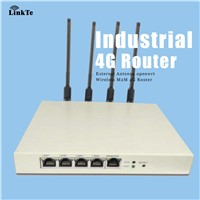 Industrial LTE 500mw High Power WiFi Router with OpenWrt support PoE
