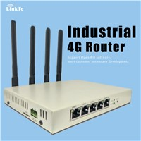 POE WiFi GPS LTE 4G Cellular Broadband Router With Sim Slot