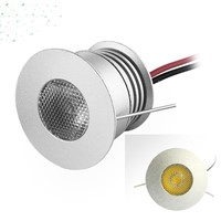 Mini 3W Cree LED Cabinet Light DC12-24V Spotlight Showcase Lighting