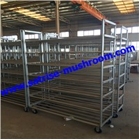 Approval Mushroom Growing Metal Wire Storage Rack Shelving