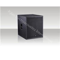 15 inch subwoofer speaker box/1000W high power output PA passive subwoofer