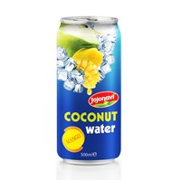 Fruit Juice Mango flavour with Coconut water in Aluminium can