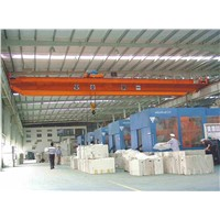 High Efficiency LH  Electric Double Girder Overhead Travelling Crane