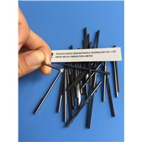 High precision finishing tungsten carbide short rods