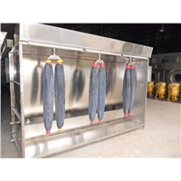 PP. Spray Booth for Jeans