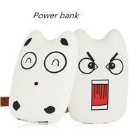 Portable gift cartoon power bank, 6000mAh/7800mAh