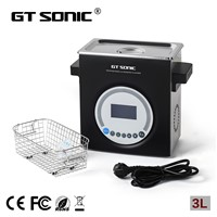 40KHz Ultrasonic Parts Cleaner Silent for Dental Lab Clinic Jobs